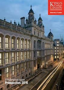 Undergraduate Prospectus 2016 By King U0026 39 S College London