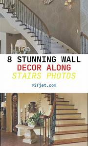 8, Stunning, Wall, Decor, Along, Stairs, Photos