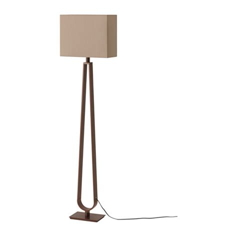 ikea floor ls lighting klabb floor l light brown bronze colour ikea