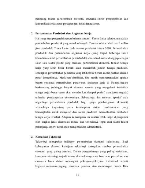 Perekonomian timor leste