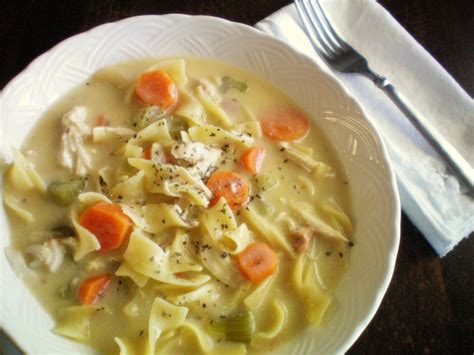 chicken noodle sou crock pot creamy chicken noodle soup