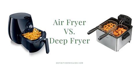 fryer air vs deep