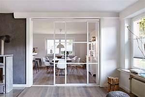 Raumteiler Modernes Wohnen : gl serner raumteiler bilder ideen couch ~ Markanthonyermac.com Haus und Dekorationen