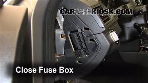 mercedes benz  interior fuse check