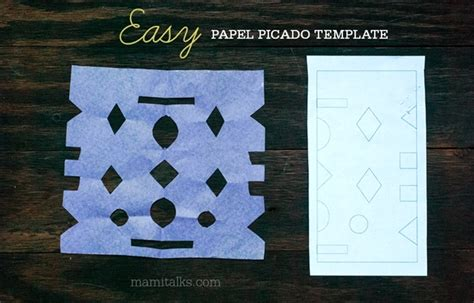 Papel Picado Template For by Papel Picado Templates Mami Talks