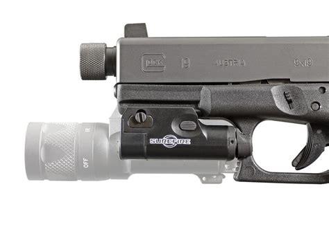 surefire pistol light surefire xc 1 ultra compact led pistol light on target