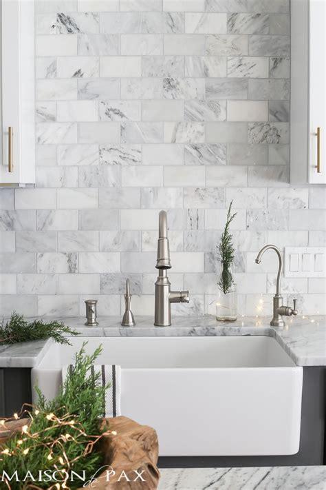 Marble Tile Kitchen Backsplash by Kitchen Design Tile And Kitchen