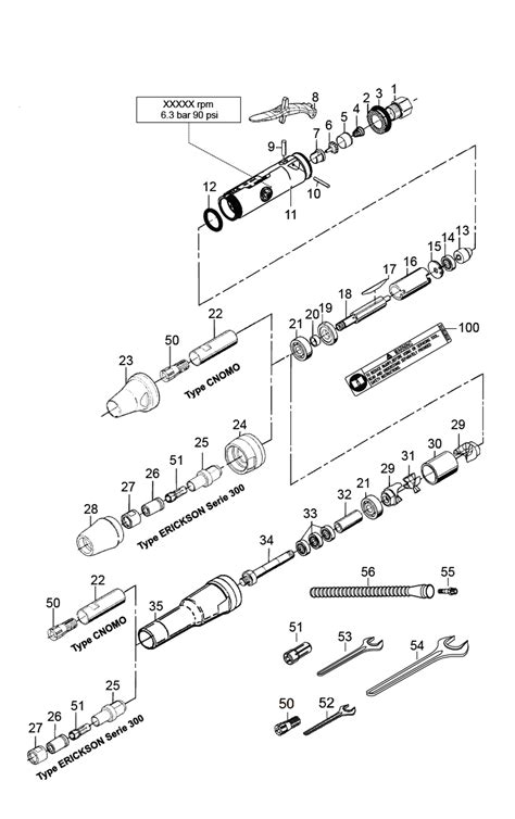 Chicago Pneumatic CP3019-25 Parts List | Chicago Pneumatic