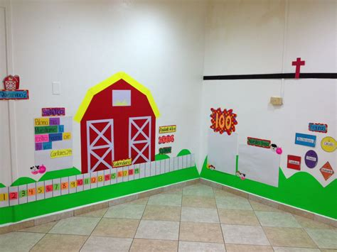 farm theme decoration classroom decoration ideas
