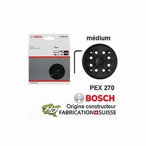 Bosch Pex 270 A : plateau 125 mm m dium bosch 2608601169 pex 270 270a 270ae hd outillage ~ Watch28wear.com Haus und Dekorationen