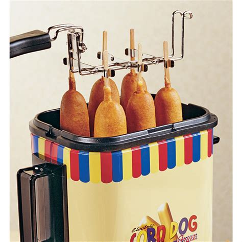 corn dog cooker dogs rack supplies kitchen cookware sold sportsmansguide