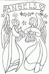 Angel Coloring Pages Wings Print Printable Angels Colouring Guardian Inspiring Pdf Nativity Letscoloringpages Cute Cool Children Adults Christmas Sheets Bible sketch template