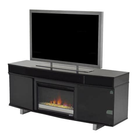 enterprise black faux fireplace wspeakers el dorado