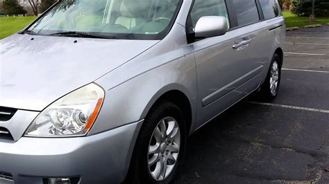 2007 Kia Sedona Ex Walk Around Review Uber Xl Cheap