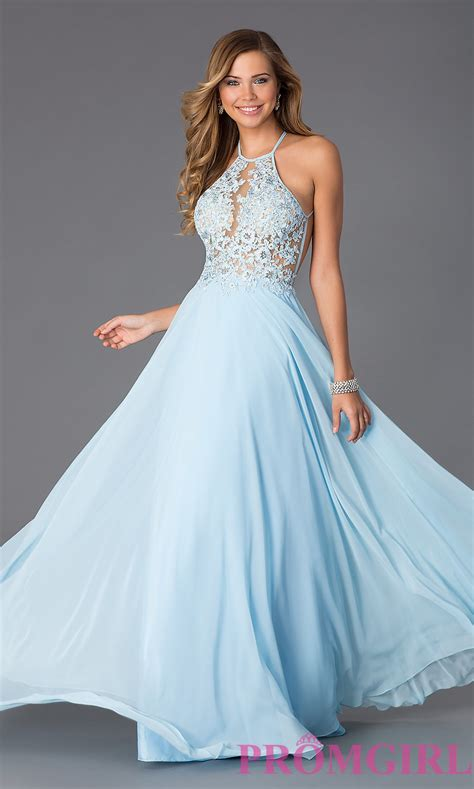 light blue prom dress blush exclusive lace open back prom dress