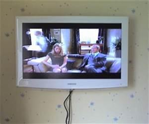 Fernseher An Wand Montieren : fernseher und wandmontage ~ A.2002-acura-tl-radio.info Haus und Dekorationen