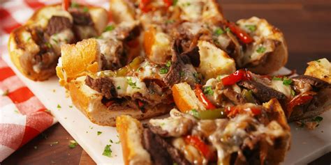 philly cheesesteak bread cheesy appetizers summer recipes list appetizer easy delish recipe nachos delightful ideal weather healthy