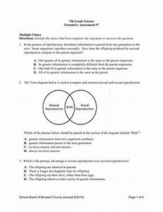 34 Sexual And Asexual Reproduction Venn Diagram