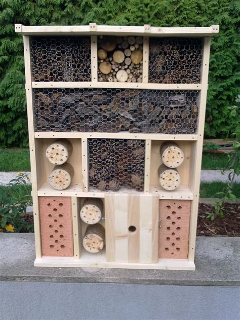 Insektenhotel Bauanleitung Kostenlos by 25 Einzigartige Insektenhotel Selber Bauen Ideen Auf