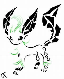Tribal Leafeon by Shadowy-Skies on deviantART
