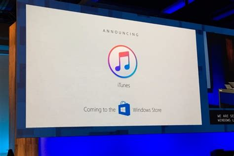 The Windows Store Hell Freezes Over Itunes Is Coming To The Windows Store