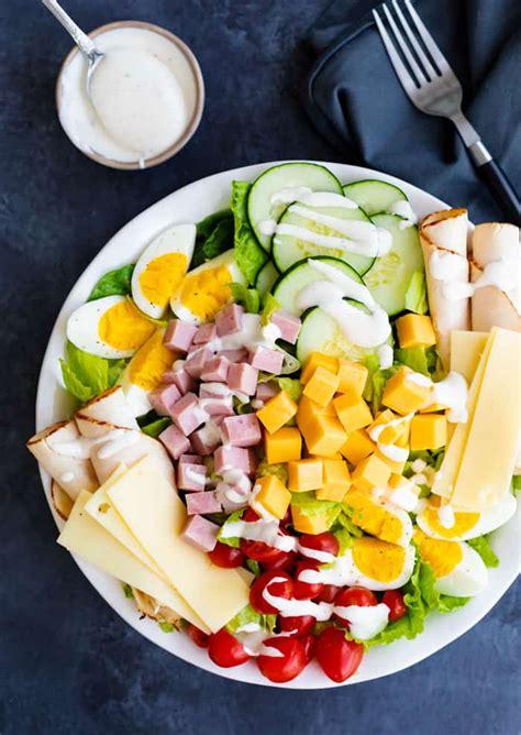chef salad  cozy cook