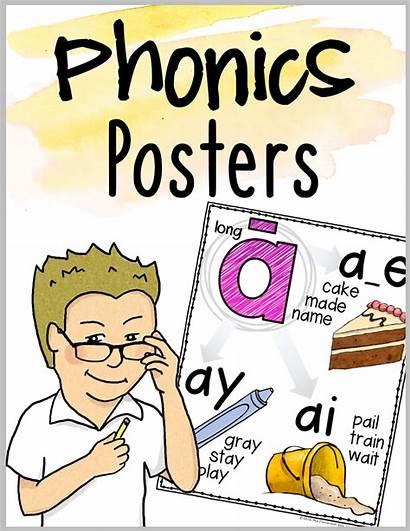 Phonics Posters Classroom Key