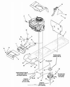 Snapper 2690808 - Lt23420  42 U0026quot  23hp Lawn Tractor Lt125 Series Parts Diagram For Engine Group