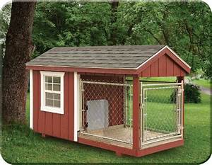 Amish dog kennels for sale in nj b l woodworking for Amish dog kennel plans