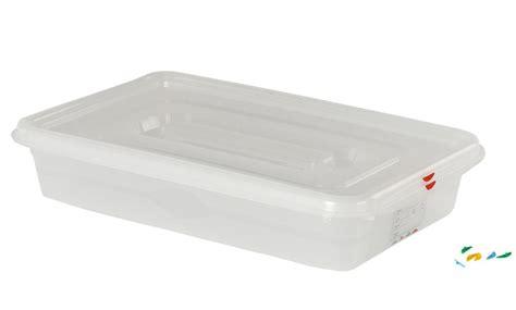 boite plastique cuisine bac plastique étanche gn 1 1 13 l h 10 cm tom press