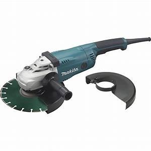 Meuleuse Makita 230 : meuleuse 230 mm makita disqueuse d coupe fer et b ton jfm ~ Edinachiropracticcenter.com Idées de Décoration