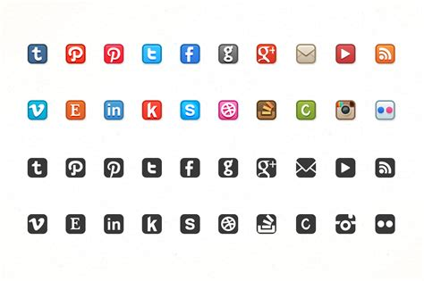 small social media icons images social media heart icons email signature social media
