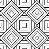 Zentangle Patterns Geometric Coloring sketch template