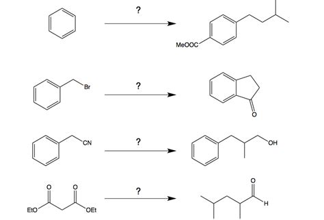Organic Chemistry Retrosynthesis Practice Problems by Solved Organic Chemistry Synthesis Problems What Are The