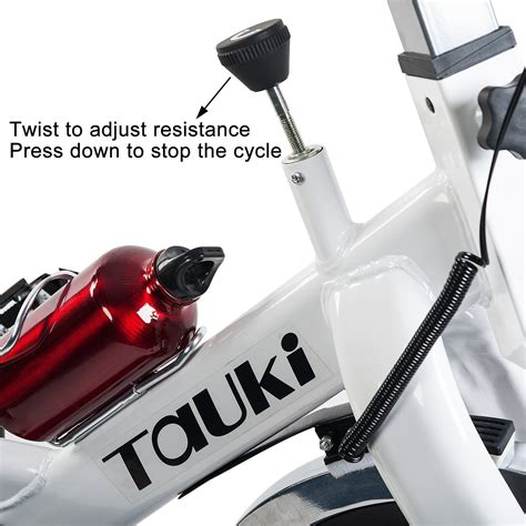 Tauki Indoor Health and FitnessExercise Bike with LCD ...