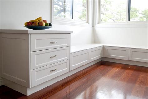 kitchen storage benches grange kitchen makings of kitchens brisbane 3121