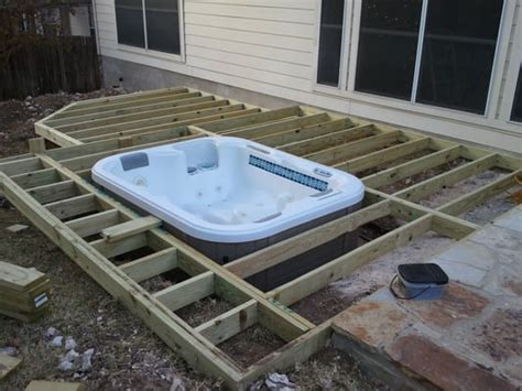 inground tub ideas inground hot tub designs joy studio design gallery best design