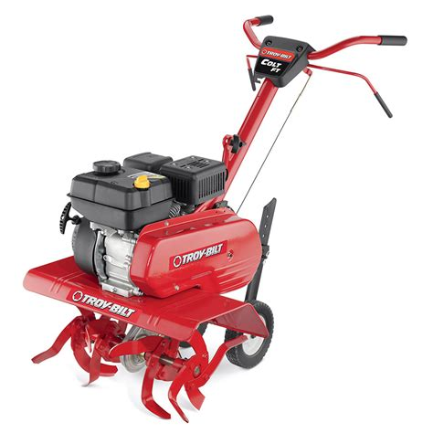 garden tillers at lowes front tine vs rear tine tillers troy bilt