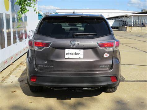 Toyota Highlander Hitch by 2016 Toyota Highlander Trailer Hitch Curt