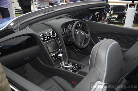 bentley continental gt   convertible interior