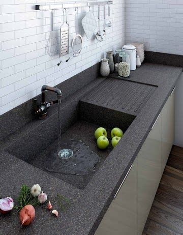 one kitchen sink and countertop one sink and countertop designs for your kitchen