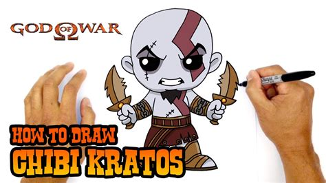 How To Draw Kratos God Of War Youtube