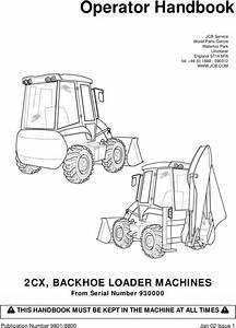 Jcb 2cx Operators Manual