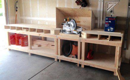dewalt dws miter  stationbench garage work bench