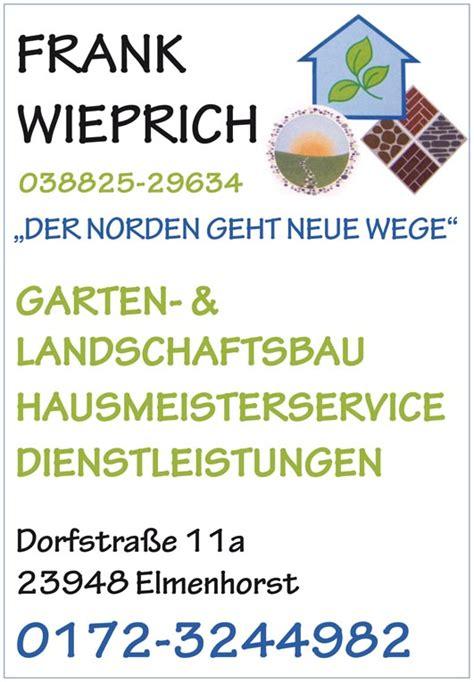 Garten Landschaftsbau Wittenburg by Handwerker Und Gewerbeverein Kl 252 Tzer Winkel E V
