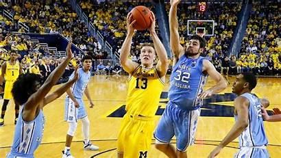 Michigan Basketball Wolverines Wallpapers Carolina North Dominates