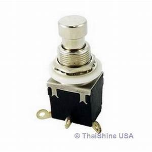 Push Button Switch Momentary Spdt
