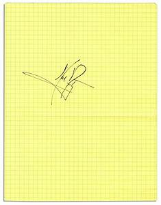 Lot Detail - Neil Armstrong's Signature