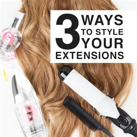 ways to style your hair 3 ways to style your hair extensions hair extensions