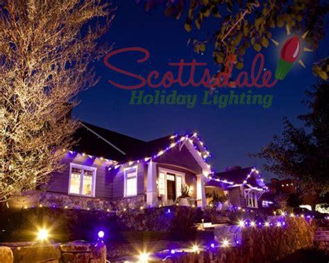 photos scottsdale christmas light installation
